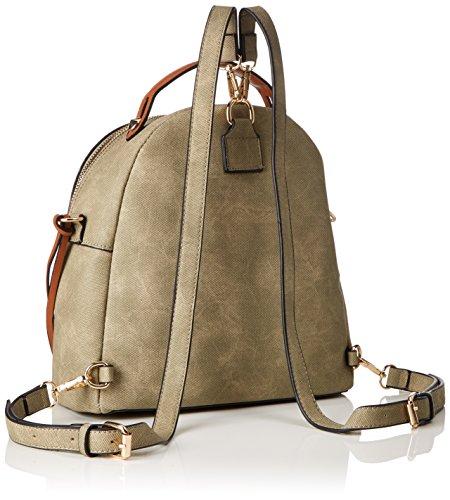Bulaggi - Soutine Backpack, Borse a zainetto Donna Verde (Khaki)
