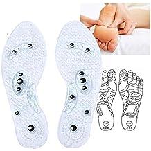 Plantillas de masaje, plantillas de gel de masaje de zapatos, para el cuidado de