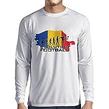 N4514L Camiseta de Manga Larga Evolution Football - Romania