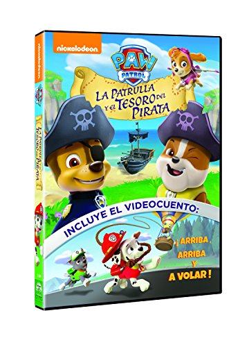 Paw Patrol: La Patrulla Y El Tesoro Del Pirata [DVD]