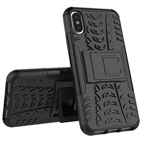 Iphone 8 Hülle ,AyiHuan [Heavy Duty Serie] Outdoor Shock Fallschutz Dual Layer Armor Case Schutzhülle mit Rückseite ausklappbare Ständer Bumper für Iphone 8,lila lila