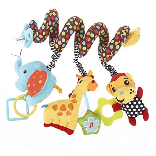 Nuolux giocattolo a spirale, passeggino giocattolo,giocattolo del bambino bambino attività a spirale