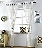 Bordure en tulle Fenêtre de porte Drap de rideau Drap-housse Valise , width of 2 meters x height of 2.7 meters [punch]