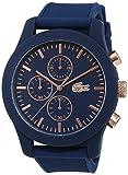 Lacoste Homme Chronographe Quartz Montres bracelet avec bracelet en Silicone -...