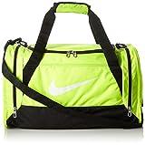 Nike Brasilia 6 Medium Duffel Sporttaschen, Volt/Black/White, 750 x 40 x 33 cm, 62 Liter