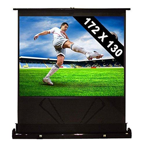 """Front Stage Pantalla de pie extraíble para proyector y Cine en casa HDTV 86"""" 172x130cm 4:3"""