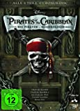 Pirates of the Caribbean - Die Piraten-Quadrologie [5 DVDs] -