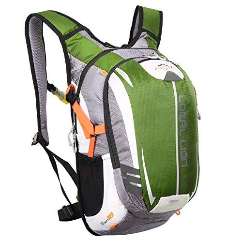 local-lion-unisex-18l-outdoor-sports-hiking-daypack-cycling-backpack-bag-green