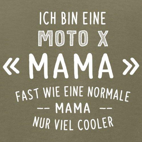 Ich bin eine Moto-X Mama - Herren T-Shirt - 13 Farben Khaki