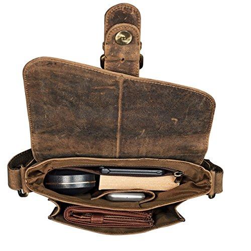 978c0bc505f20 ... STILORD kleine Umhängetasche Herren Leder Vintage iPad Hülle 10