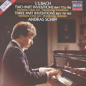 Bach: Two and Three Part Inventions