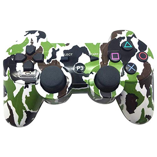 Marnetsone PS3 Controller (kabellos) Weiß-grün (Ps3 Wireless Grün Controller)