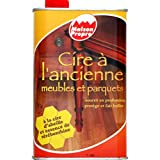 Maison Propre - Cire @ l'ancienne, meubles et parquets, @ la cire d'abeille et essence de t{r{benthine - Le flacon de 1L - (for multi-item order extra postage cost will be reimbursed)