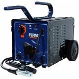 FERM WEM1035 Elektro-Schweißgerät - 55-160 Ampere - 2-4 mm - Thermischen Sicherung - Inkl. Schweißschild, Drahtbürste und Schlackenhammer
