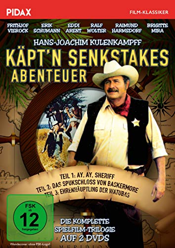 Käpt'n Senkstakes Abenteuer / Die komplette Spielfilm-Trilogie mit Hans-Joachim Kulenkampff und Starbesetzung (Pidax Film-Klassiker) [2 DVDs]