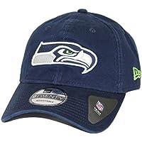Seattle Seahawks New Era 9Twenty NFL Core Classic Adjustable Hat - Navy