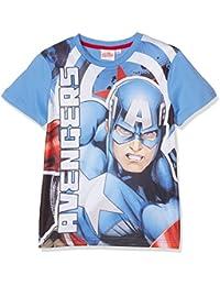 Avengers Assemble Garçon Tee-shirt - bleu
