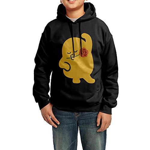 onlyprint-youth-emoji-love-rose-boys-girls-hoodies-sweatshirt-size-l-us-black