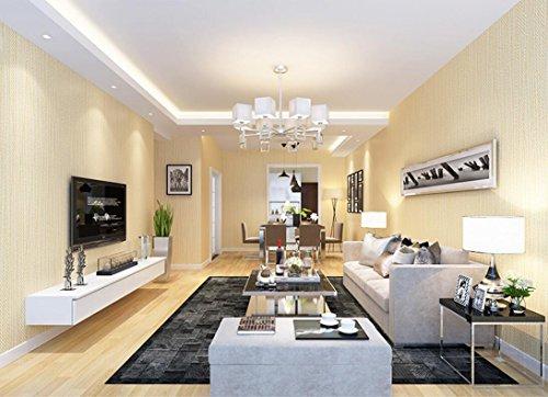 Loaest Modernes, Minimalistisches Wohnzimmer Wallpaper Tv Kulisse Schlafzimmer  Tapete Vertikaler Streifen Tapete Cream Colored