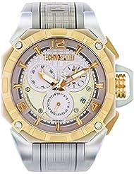 TECHNO Sport Hombre Chrono Reloj–Arena Dorado
