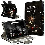 Archos 101Platinum 3G Tablet Funda Case Protección cover giratorio