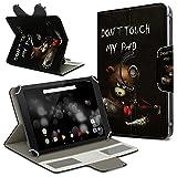 Archos 101 Platinum 3G Tablet Hülle Tasche Schutzhülle Case Schutz Cover Drehbar, Farbe:Motiv 1