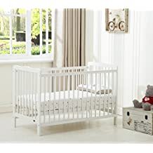 Mcc® Brooklyn Baby Cot Crib With Water repellent Mattress
