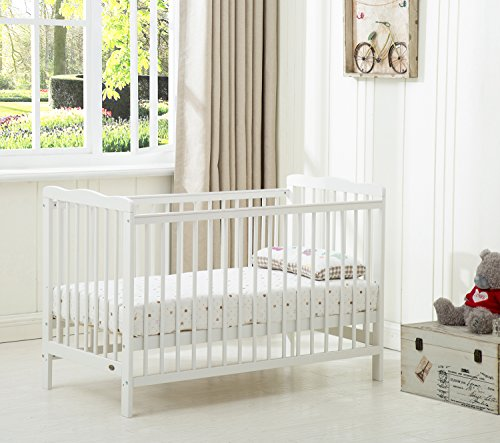 MCC Brooklyn Baby Cot Crib With Water repellent Mattress