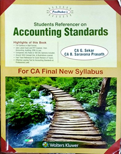 Student Referencer on Accounting Standards