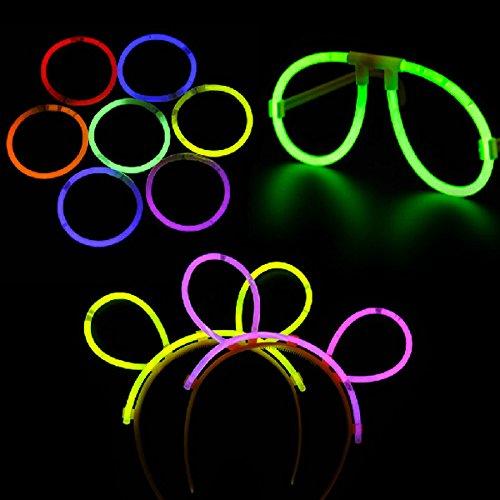 pixnor-5pcs-drole-multicolore-fluorescent-lunettes-lunettes-5pcs-glow-bandeaux-pour-fete-festival
