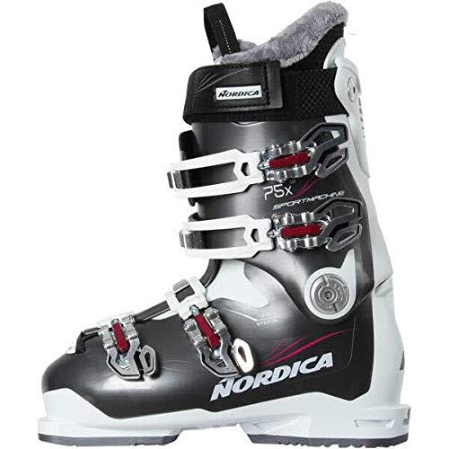 Nordica Damen Skischuhe Sportmachine 75 X W Weiss/grau (907) 26,5 -