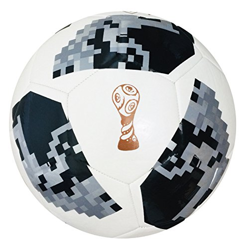 World Cup Football 2018 Russia Replica Design Match ball Size 5 4 3 - Spedster  The Football is packed in a Beautiful Net Gift Bag   3