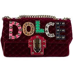 Dolce&Gabbana bolsos con asas largas para compras mujer nuevo lucia rojo