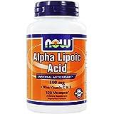 Now Foods- acide alpha lipoïque- 100 mg- 120 capsules