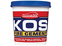 Everbuild EVBKOSBLK1K 1 kg KOS Fire Cement - Black
