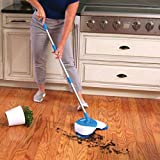 #6: Rachees Sweeper mop Easy yse uto Spin Hand Push Sweeping Broom Floor dust Cleaning mop