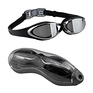 Gafas de Natación, EveShine Gafas para Nadar , Cristal Anti Niebla, Cómodo Sello Hermético, para Adultos, Niños, Hombres, Mujeres