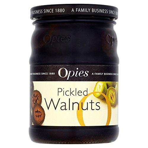 Opies Pickled Walnuts in Malt Vinegar 390g - Premium Qualität