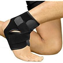Bracoo Premium Fußbandage | Atmungsaktive Fußgelenkbandage mit Klettverschluss | optimaler Fußgelenkschutz beim Sport wie Volleyball, Fußball und Handball | Sprunggelenkbandage für Damen und Herren