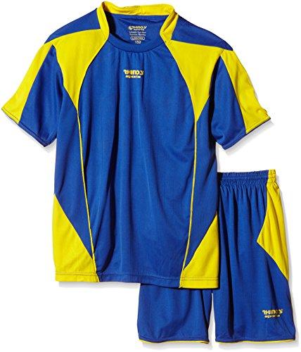 RHINOS sports Trikot-Set Lisbona blau/gelb XL