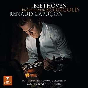Beethoven - Korngold : Concertos pour violon