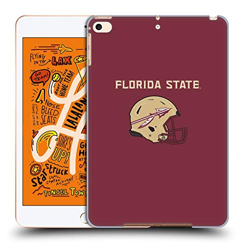 Head Case Designs Offizielle Florida State University FSU Helm Logotype Harte Rueckseiten Huelle kompatibel mit iPad Mini (2019) Florida State Mini Helm
