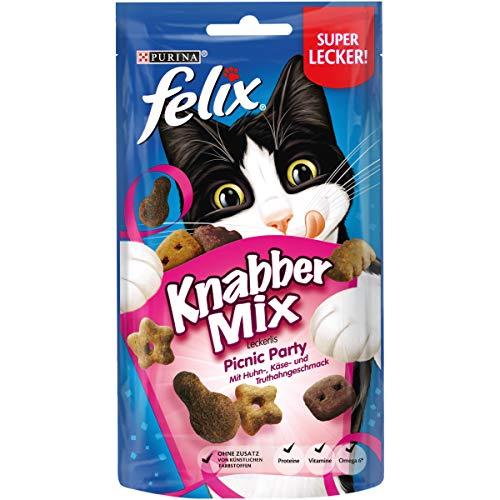 zen-Leckerlis mit Proteinen, Vitaminen & Omega 6, Katzen-Snacks ohne Zusatz künstlicher Farbstoffe, Menge: 8er Pack (8x60g Beutel) ()