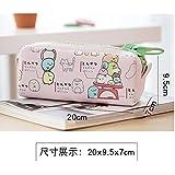 Wicemoon Kawaii Cartoon Pencil Case Animal Lindo Lápiz Grande Bolsa Para Niñas Niños Oficina Material Escolar Papelería