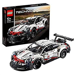 LEGOTechnicPorsche911RSR,AutodaCorsa,SetdiCostruzioniAvanzato,ModellodaCollezioneperRagazzieVeriAppassionatidiAutomobilieMotori,42096 LEGO