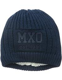 """maximo Jungen Mütze Beanie """"Mxo"""", Label, Einfarbig"""
