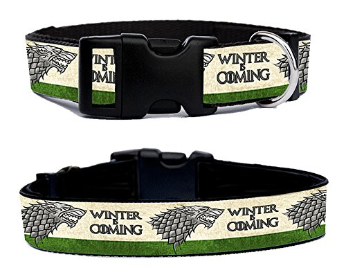 juego-de-tronos-game-of-thrones-house-stark-winter-is-coming-handmade-dog-collar-adjustable-size-m
