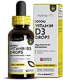 Vitamin D *10,000 IU per 10 Drops* | 2,000 Vegetarian Drops of 1000
