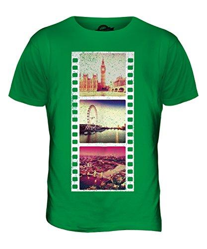 CandyMix London Fotografischer Film Herren T Shirt Grün