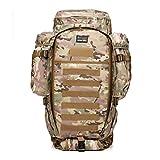 PLZY Rucksack 600D Taktik Militär Camouflage Rucksack Sport und Freizeit Kombination Outdoor Rucksack, cp